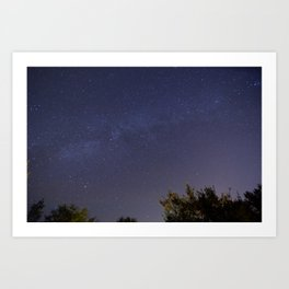 Stars over Alachua Art Print