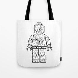 Skull-Brick Tote Bag