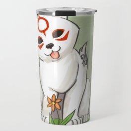 Okami Chibiterasu Travel Mug