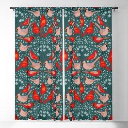 cardinals pattern Blackout Curtain