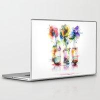 card Laptop & iPad Skins featuring card by tatiana-teni