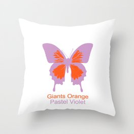 Ulysses Butterfly 4 Throw Pillow