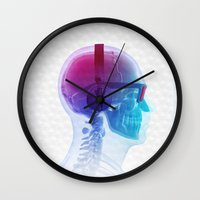 carnage Wall Clocks featuring Electronic Music Fan by Sitchko Igor
