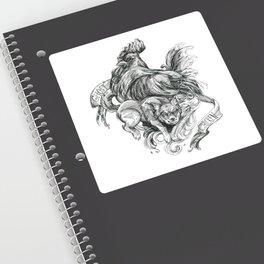 Inktober 2018: Ghost Chicken Sticker