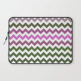 Pink Roses in Anzures 1 Chevron 1T Laptop Sleeve