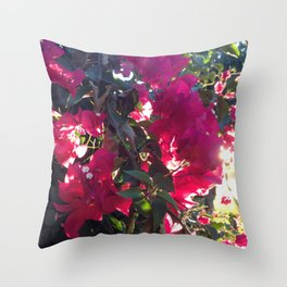 The Light At The End Of The Sidewalk III Throw Pillow