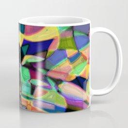 Drinkin Whiskey and Rye: Colorful Digital Abstract Design Coffee Mug