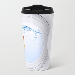 (Very) Clean Goldfish Travel Mug