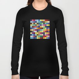 Pantone Color Palette - Pattern Long Sleeve T-shirt