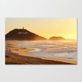 Sunrise at Sugarloaf Point Canvas Print