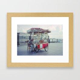 Riverside Merchant Framed Art Print