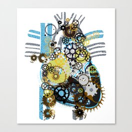 Cogs Of Your Heart Canvas Print