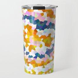 Sun Beam Geometric Travel Mug