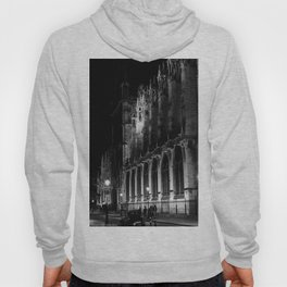 A View of the Northern Edge of Notre Dame Cathedral, Paris, France Hoody