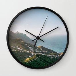 Taganana, Tenerife, Spain Wall Clock