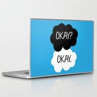 okay Laptop & iPad Skins featuring Okay? Okay. by Kerrin  Rose