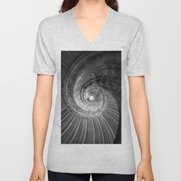 Winding staircase Unisex V-Neck