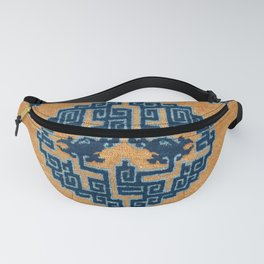 Ningxia Qing West China Seat Cover Print Fanny Pack