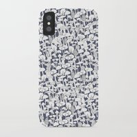 mushrooms iPhone & iPod Cases featuring Mushrooms by Julia Kisselmann