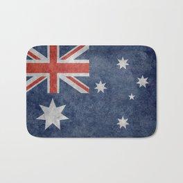 The National flag of Australia, Vintage version Bath Mat