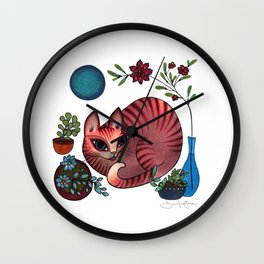 Weekend Chill Wall Clock