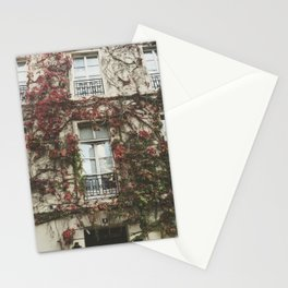 Fall Ivy in Paris Stationery Cards