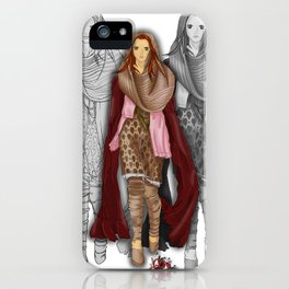 Autumnal Girl iPhone Case