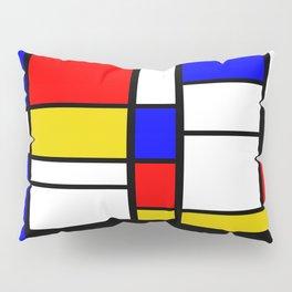 Art work inspired to P. Mondrian (n.1) Pillow Sham