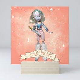 Sagittarius Zodiac Doll Print Mini Art Print