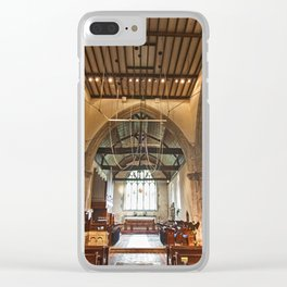 St Andrews Crossing Clear iPhone Case
