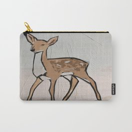 Digital Pop Art Modern Deer Carry-All Pouch