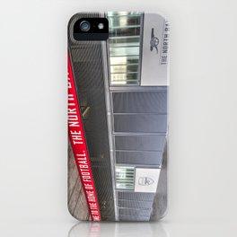 Arsenal FC Emirates Stadium London North Bank iPhone Case