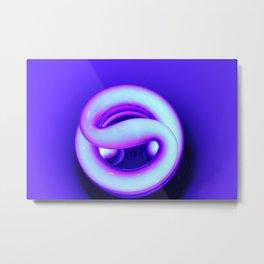winding illumination Metal Print