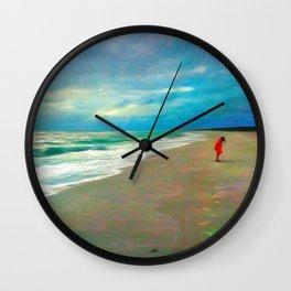 Sanibel Storm Wall Clock