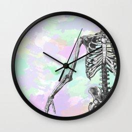 Groove Skeleton Wall Clock