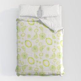 lemon rain, lemonade Comforters