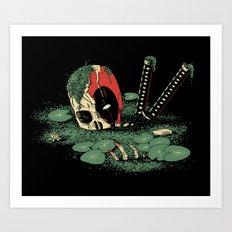 Dead Pond Art Print