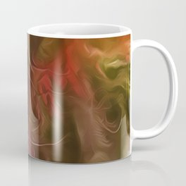Dream Light Red Tree Coffee Mug