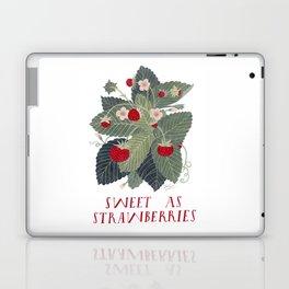 Sweet As Strawberries Laptop & iPad Skin