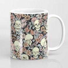 Blooming Skulls Allover Mug
