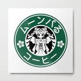Moonbucks Coffee Special Edition Metal Print