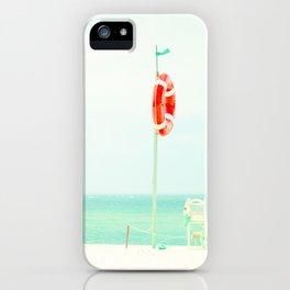 beach V iPhone Case
