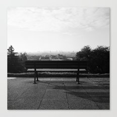 Alone in the Park Canvas Print
