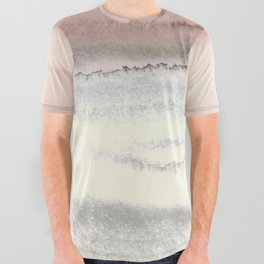 WITHIN THE TIDES - SNOW ON THE BEACH All Over Graphic Tee