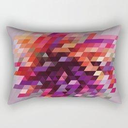 Cluster bir Rectangular Pillow
