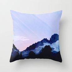 Sunny Rise Throw Pillow