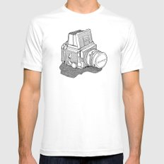 Mamiya X-LARGE White Mens Fitted Tee