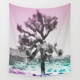 Joshua Tree - Ultraviolet Wall Tapestry