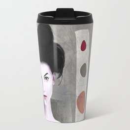 De cara a la pared Travel Mug