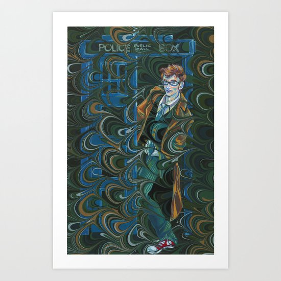 Dr. Who Art Print